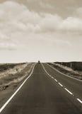 route de campagne Images stock