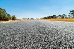 Route de campagne australienne Images stock