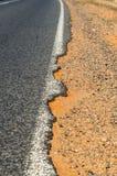 Route de campagne australienne Photo libre de droits
