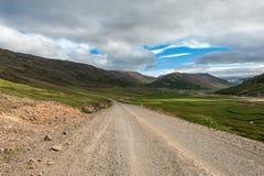 Route de campagne en automne Photos stock