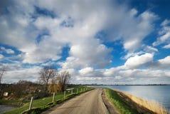 Route de campagne en Hollandes Photo stock