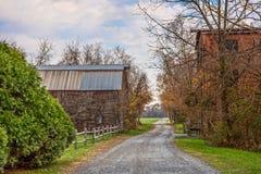 Route de campagne rurale images stock