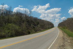 Route de campagne rurale Photo libre de droits