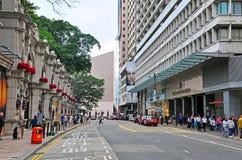 Route de canton, Hong Kong Image stock