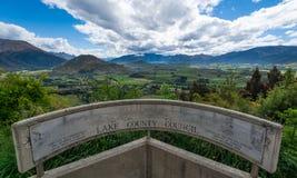Route de chaîne de couronne, Nouvelle-Zélande Photos libres de droits
