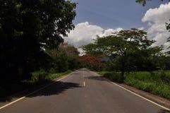 Route de Chanthaburi Photos stock