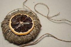 Route de citron Image libre de droits