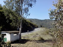 Route de colline Photographie stock libre de droits