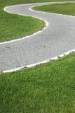 Route de courbe Photo stock