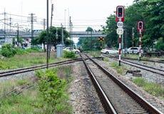 Route de croisement Photographie stock libre de droits