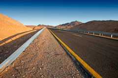 Route de désert Images libres de droits