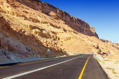 Route de désert Photographie stock
