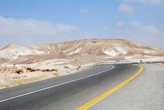 Route de désert Photos libres de droits