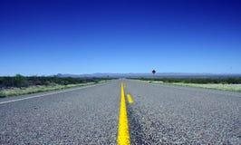 Route de désert Photos stock