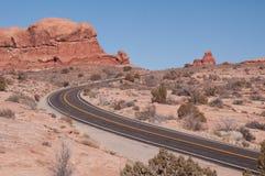 route de désert photographie stock libre de droits