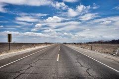 Route de désert de Nazca Photos libres de droits