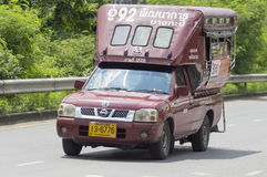 route de développement de taxi de 1520 camions - Bangkapi images libres de droits
