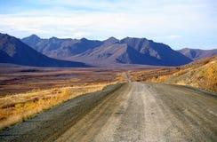 Route de Dempster, Territoires du nord-ouest, Canada images stock