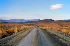 Route de Dempster, Territoires du nord-ouest, Canada photo libre de droits