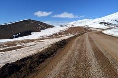 Route de Dempster, Territoires du nord-ouest, Canada photos stock