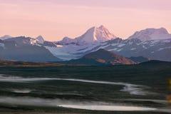 Route de Denali Image libre de droits