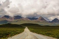 Route de Denali Photographie stock libre de droits