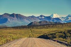 Route de Denali images stock