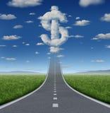 Route de fortune illustration libre de droits