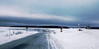 Route de glace Images stock