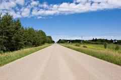 Route de gravier Photos stock