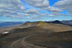 Route de gravier de montagne Image stock