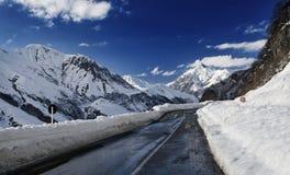 Route de Gudauri Images stock