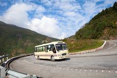 Route de Haiyun outre de Danang au Vietnam Photographie stock libre de droits