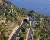 Route de Higyway Images libres de droits