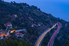 Route de Higyway Photo libre de droits