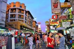 Route de Khaosan Photo stock