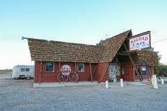 Route 66, de Koffie van Bagdad, Newberry-de Lentes Royalty-vrije Stock Fotografie
