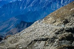 Route de l'Himalaya photo stock
