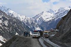 Route de l'Himalaya Photographie stock