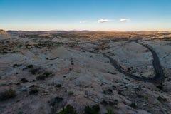 Route de l'Utah 12 millions de route du dollar Images libres de droits