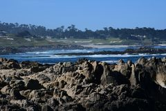 Route de la Californie 1 printemps photographie stock libre de droits