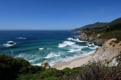 Route de la Californie 1 printemps images stock