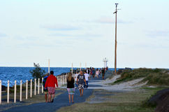 Route de la Gold Coast - Australie du Queensland Photos libres de droits