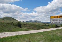 Route de Livermore Photos stock