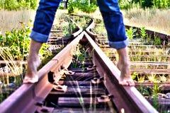 Route de longeron Photographie stock