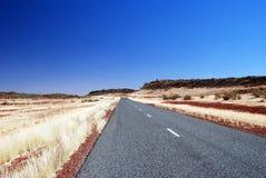 Route de Luritja Photographie stock libre de droits