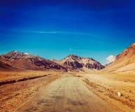 Route de Manali-Leh photographie stock libre de droits