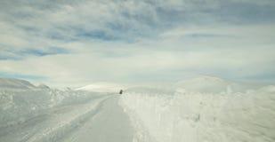 Route de Milou en Islande Image libre de droits