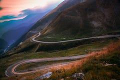 Route de montagne Photographie stock