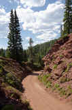 Route de montagne photographie stock libre de droits